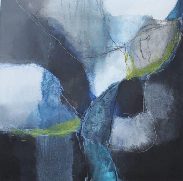 gris et bleu II_web, techniques mixtes, 2017